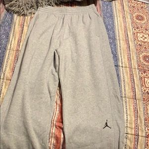 Jordan grey sweatpants